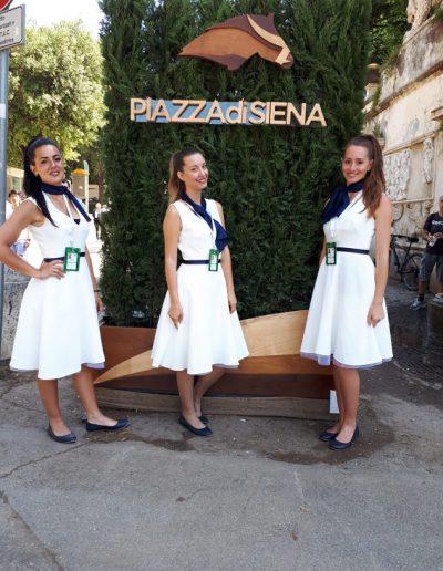 Piazza di Siena 2018