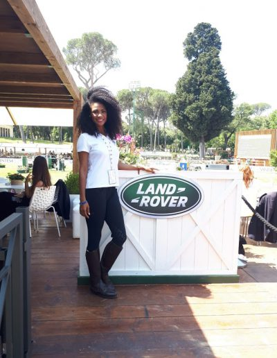 Piazza di Siena Land Rover 2018