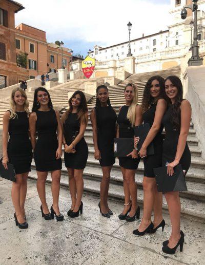 Presentazione squadra femminile AS Roma 2018
